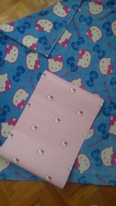 Patura+tapet Hello Kitty