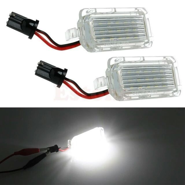 Lampi LED numar FORD KUGA, Fiesta, Modeo, S-max, C-max, Focus, Galaxy