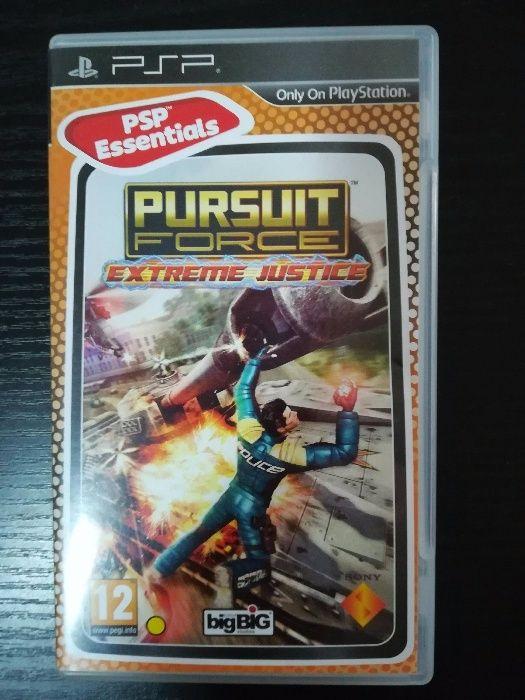 Joc PSP Pursuit force Extreme Justice