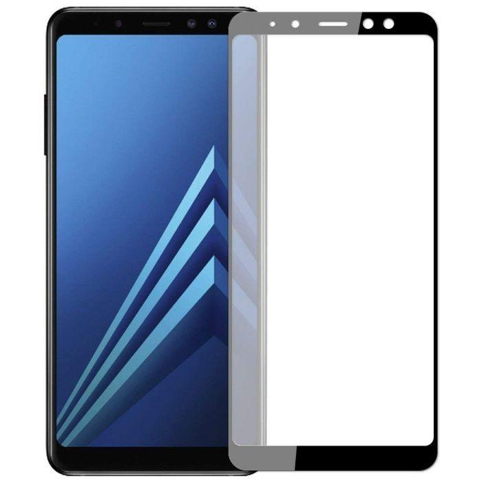 Закален 4D стъклен протектор за Samsung Galaxy A8