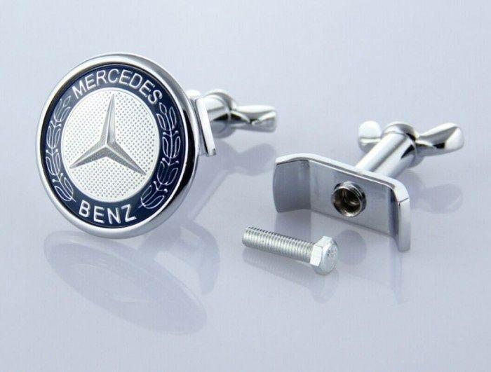 Emblema / Logo / Sigla MERCEDES BENZ - Pentru Capota - 45mm
