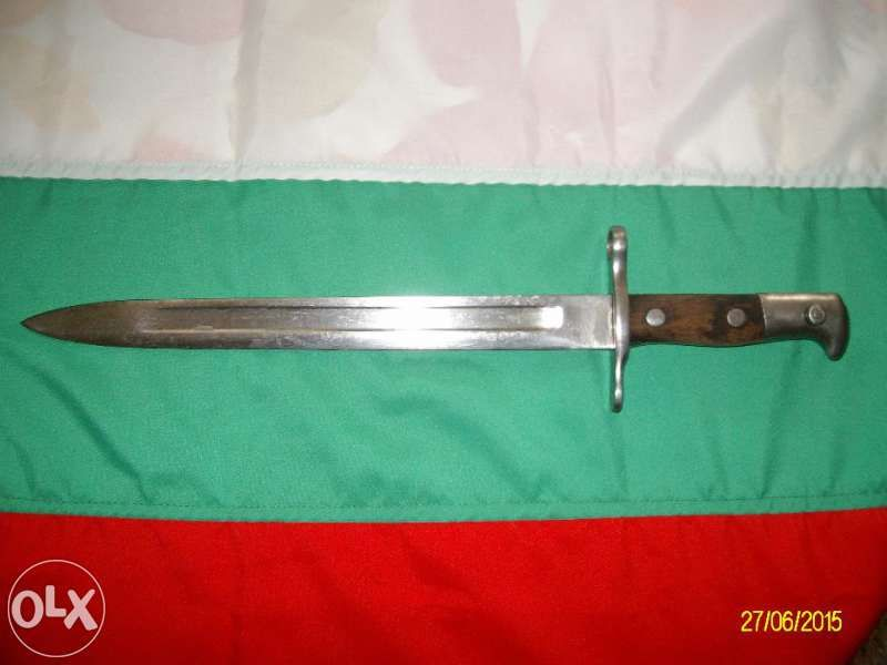 Байонет,нож,щик-Шмидт Рубин 1889г.швейцарски, оригинал