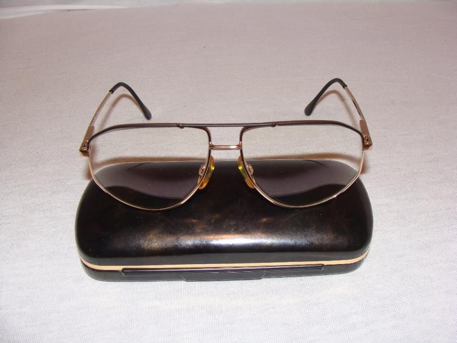 Vand ochelari de vedere titan+aur, lentile Carl Zeiss NOI