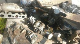 Peças de motor de alteza que estão ainda em dia