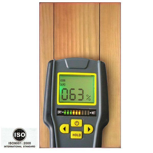 Уред за измерване на влажност на дървен материал