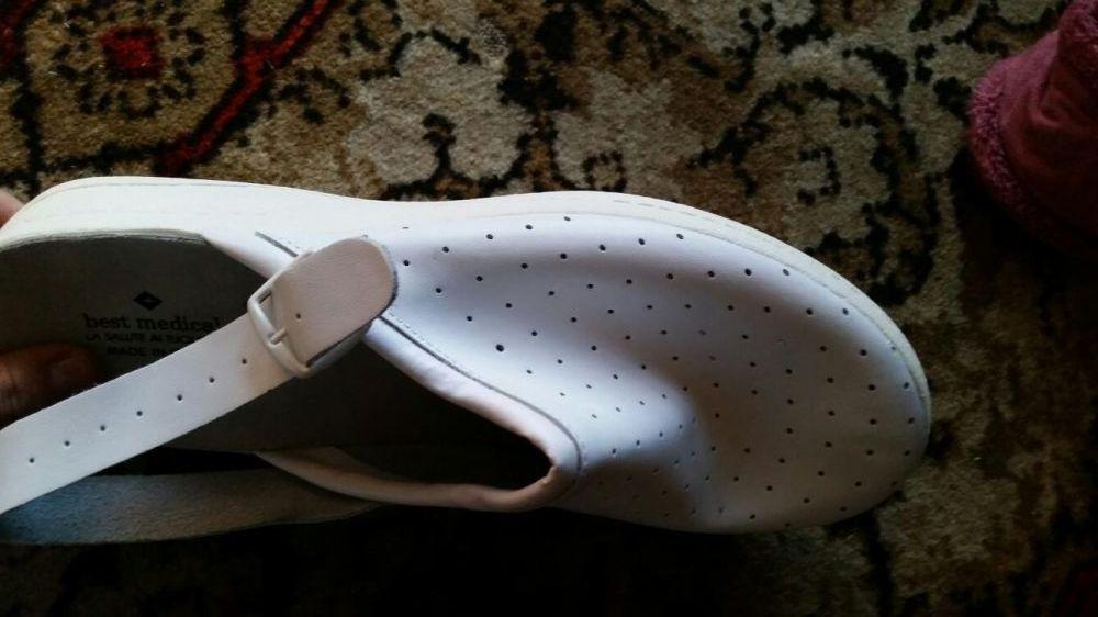 Papuci (saboti) medicinali din piele ITALIA