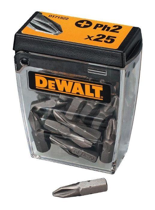 Битове / Накрайници за Винтоверт Ph2 - 25мм DeWALT DT71522 , 25 броя
