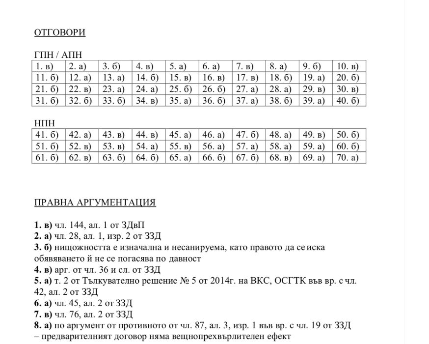 Адвокатски изпит 2019 -пълен набор от необходими материали -2005-2019 гр. София - image 4