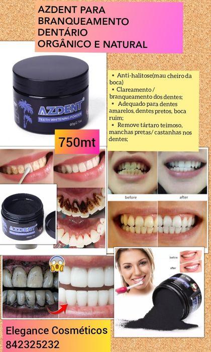 AZDENT para branqueamento dentário