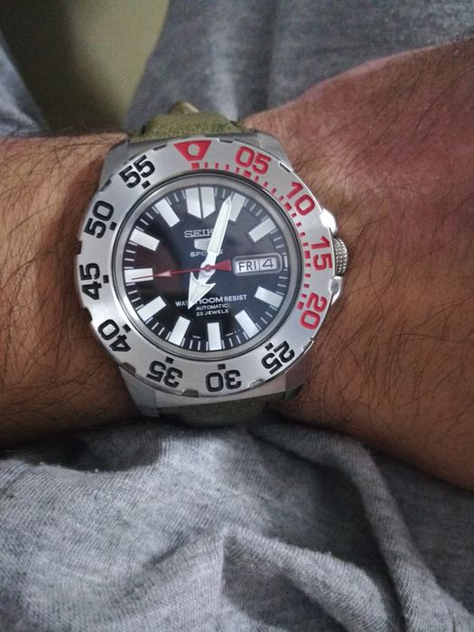 """Ceas Seiko 5 Sports Automatic,,Baby Monster"""" Impecabil ca Nou."""