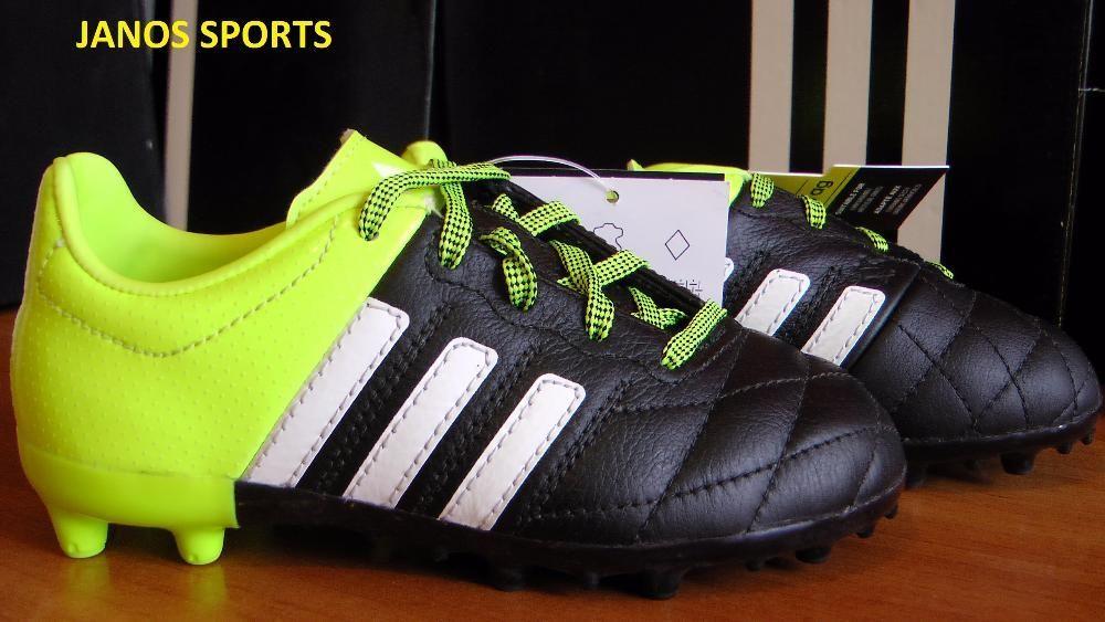 Ghete fotbal crampoane NOI Adidas ACE 15,3 marimea 28 piele naturala