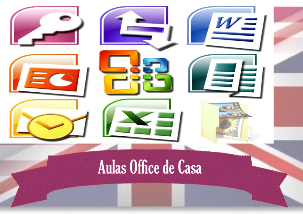 Aulas de word, excel, powerpoint, outlook, publisher