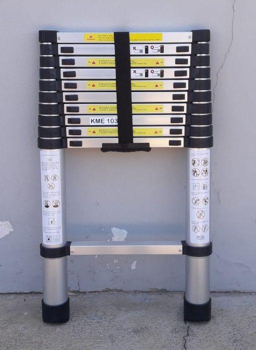 Escadotes telescópicos de alumínio de alta qualidade Modelo KME1032