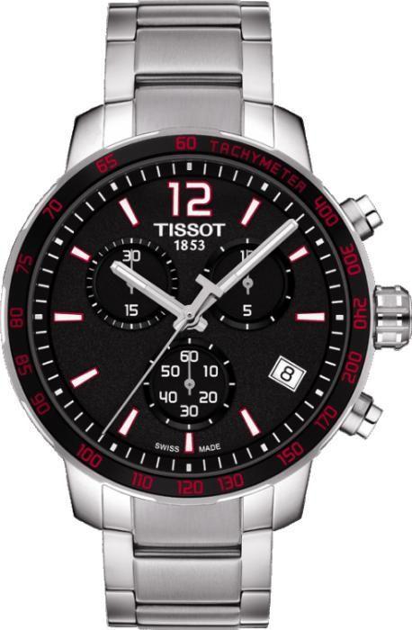 Ceas bărbătesc Tissot Quickster Black-Red
