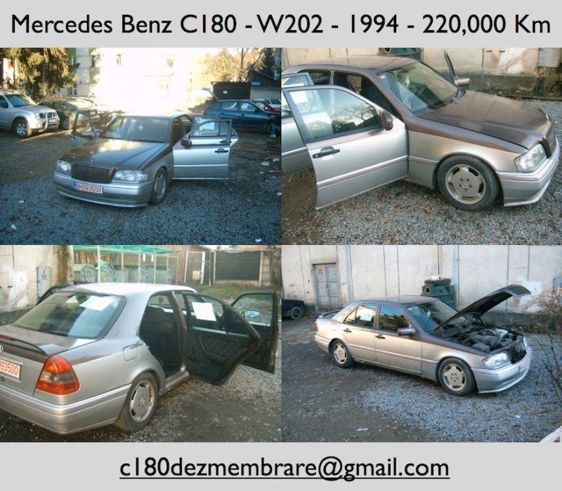 Dezmembrez MERCEDES C180 W202 -1994