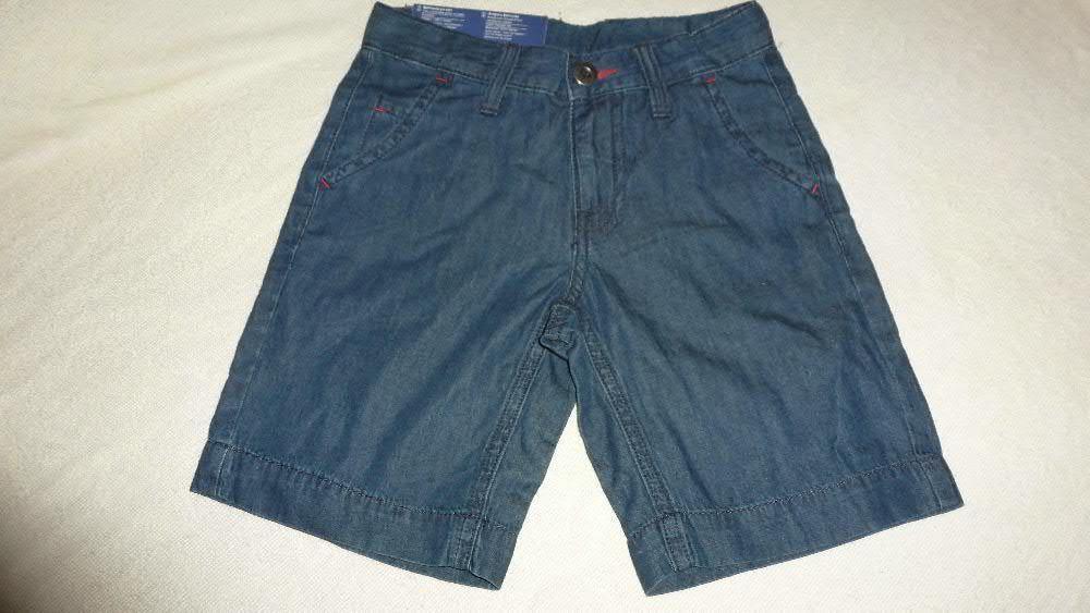 Шорты джинсовые на мальчика 6-7 лет