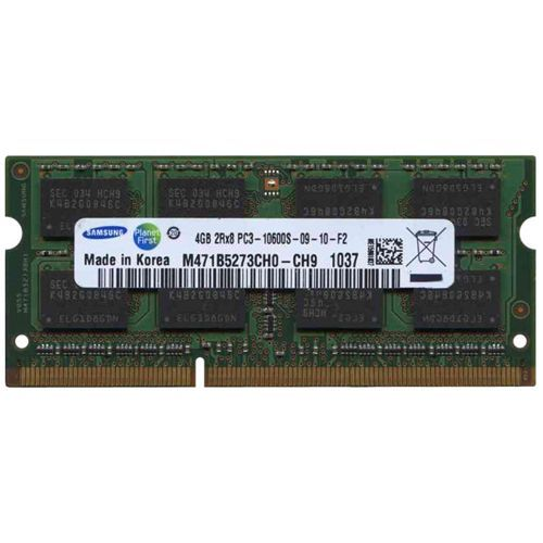 Ram laptop Samsung 4GB PC3-10600 DDR3 1333Mhz M471B5273CH0 PC3 1.5V