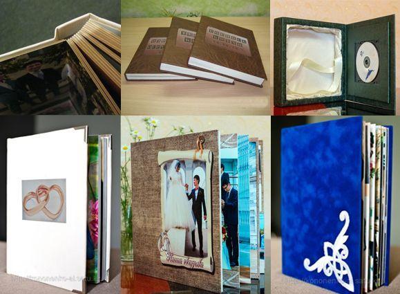 Фотокниги, виньетки, распечатка фото, подставки для свадебных галер
