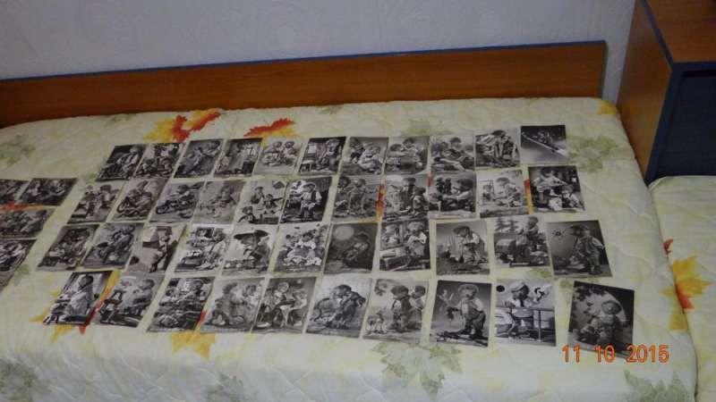 Продавам 52 черно бели немски пощенски картички-1961г -GERMAN MECKI
