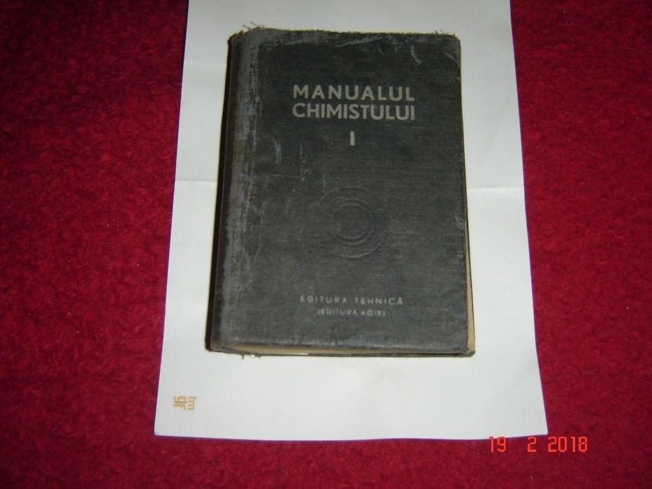 Manualul chimistului, vol.I-1949