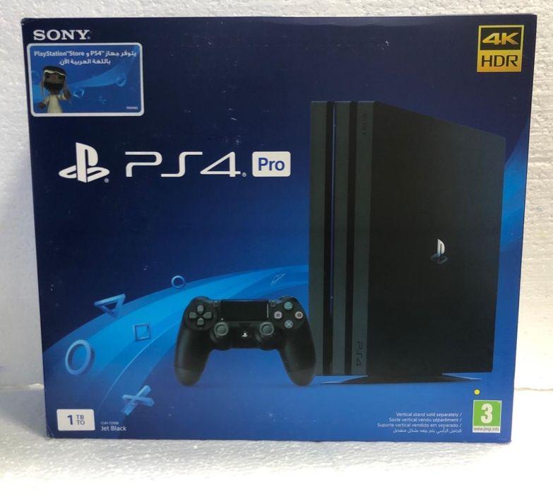 PS4 Pro 1TB Selados Entregas e Garantias de um ano
