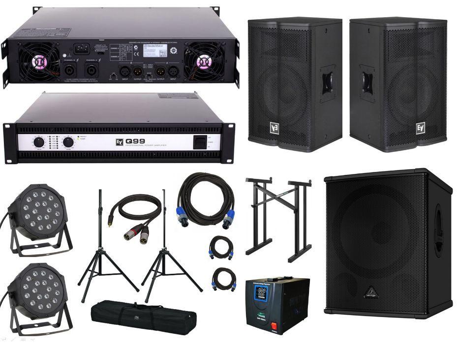 Inchirez echipament de sonorizare (Boxe) cabana, majorate, aniversari