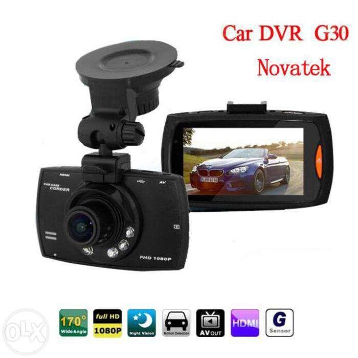 Original procesor Novatek! Camera video auto G30-Full HD 170 grade