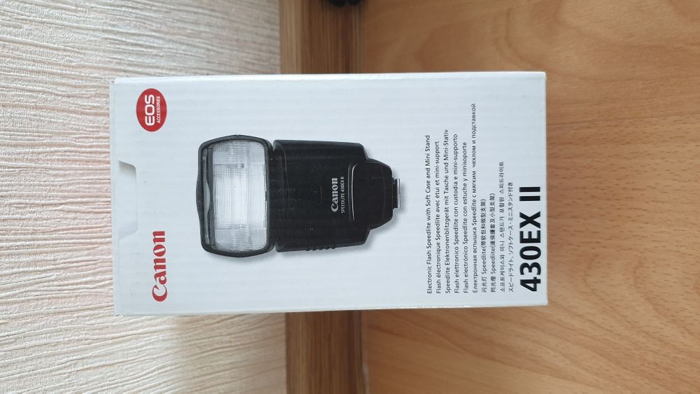 Продам фотовспышку Canon speedlite 430EX II