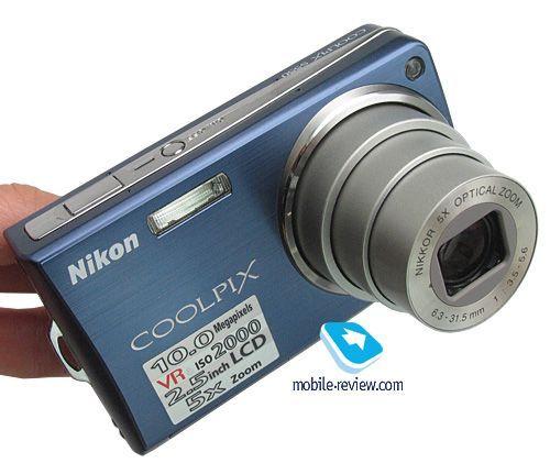 цифровой фотоаппарат Nikon s550