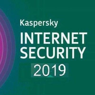 Antivirus KASPERSKY internet security 2019 1+1