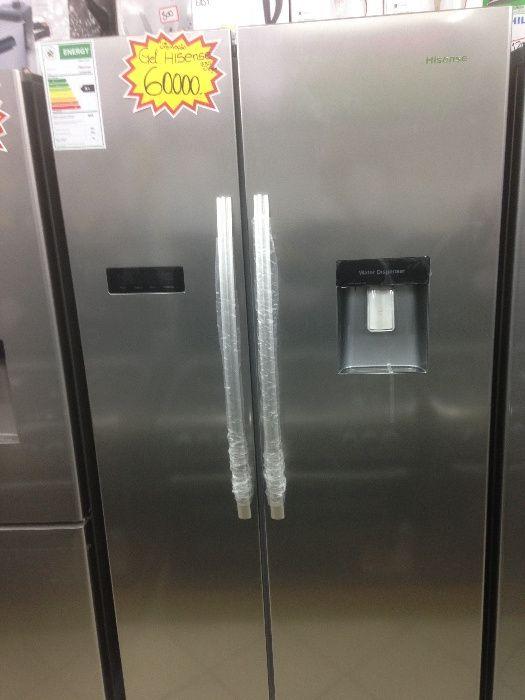 Vendo geleira duas portas hissense nova directo da loja e entrega