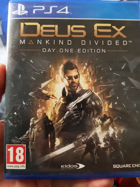 PS4,Deus Ex Mankind Divided