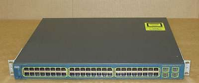 Cisco Catalyst 3560-E 48 PoE Novo