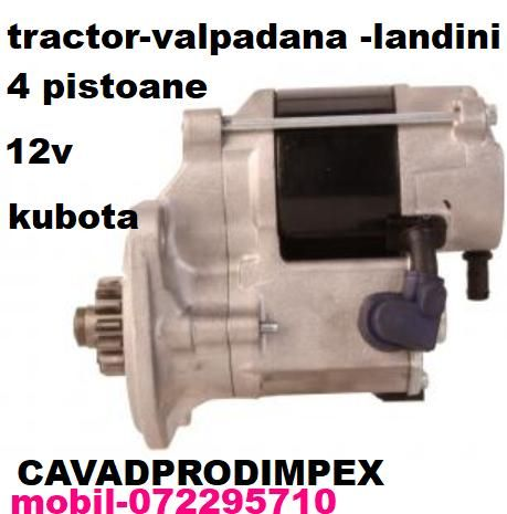Electromotor pentru mini tractor Valpadana,Landini,motor kubota,yanmar