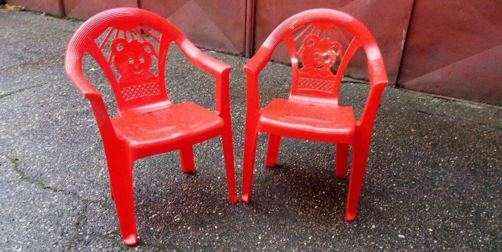 scaun plastic copii 2buc