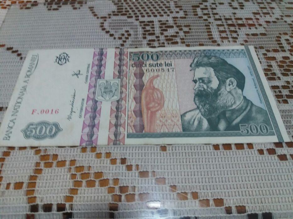 Bancnota veche 500 lei
