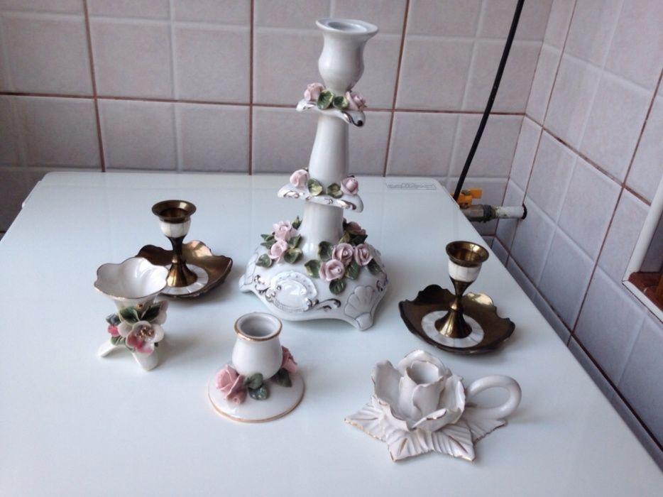 Vand sfesnice de colectie din ceramica sau bronz