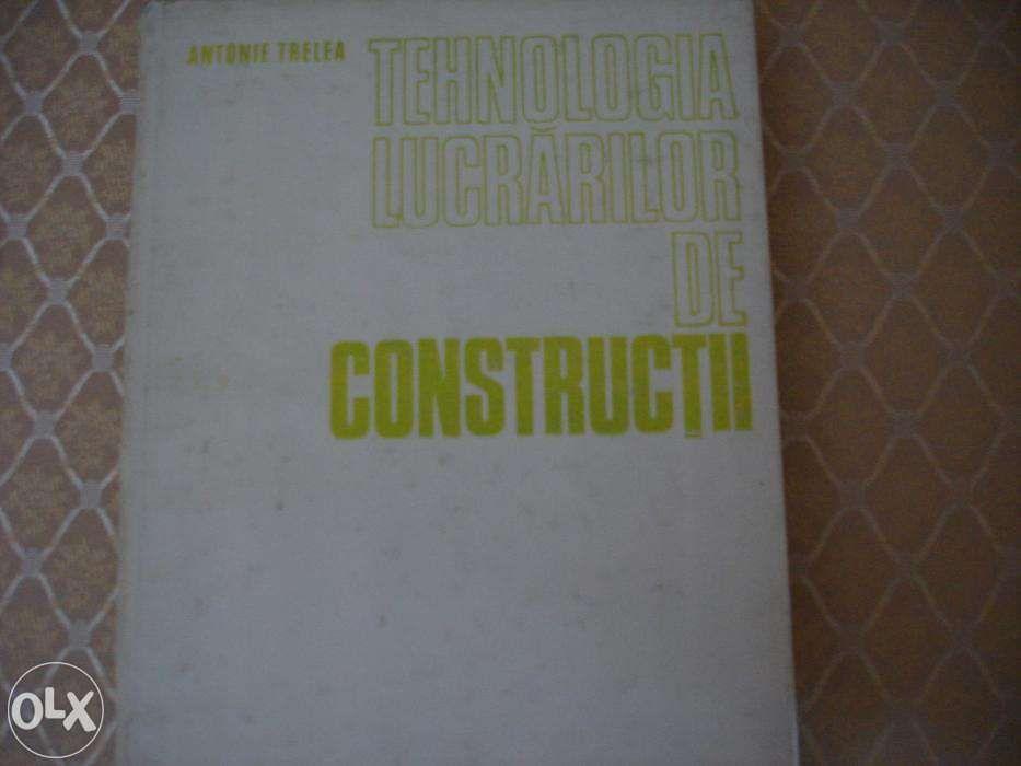 Tehnologia lucrarilor de constructii