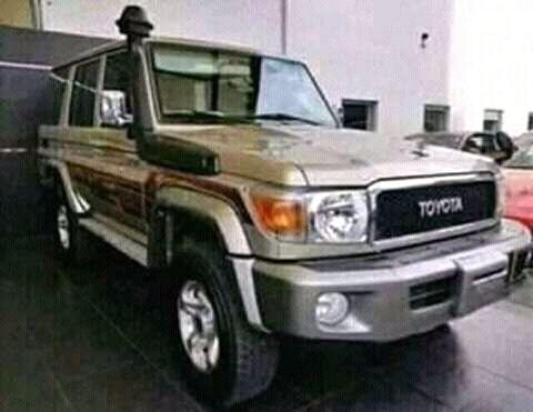 Toyota Land Cruiser 0km