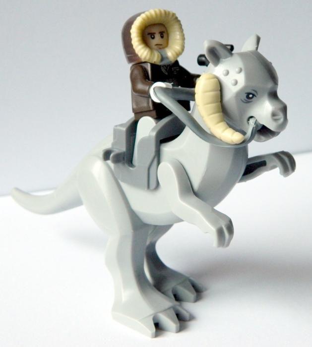 Set 2 Minifigurine Tauntaun si Han Solo tip Lego Star Wars