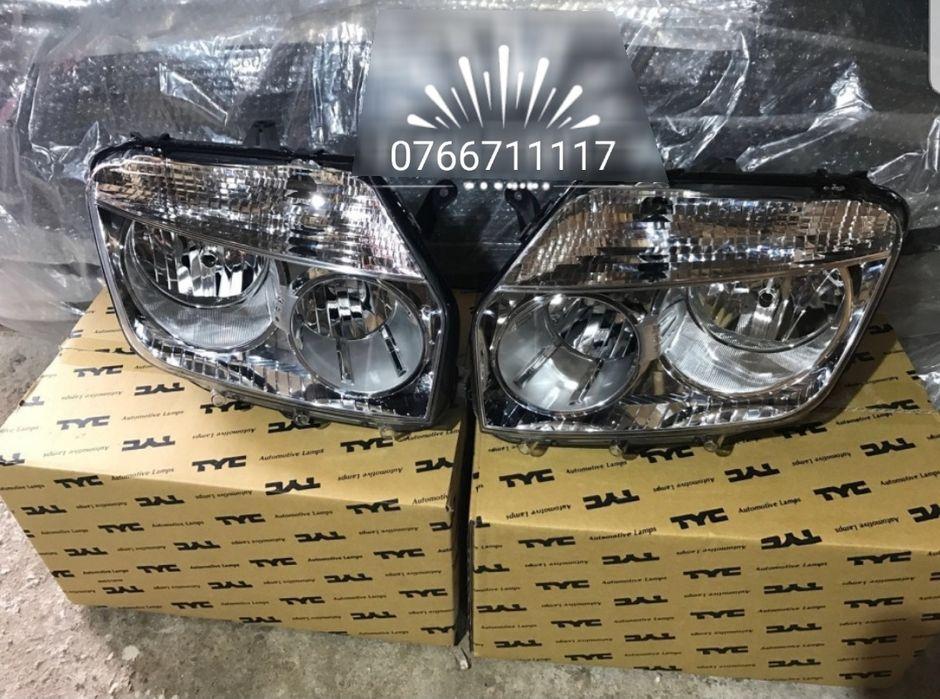 Far faruri Dacia Duster 4x2 crom/black nou model 2010*2011*2012