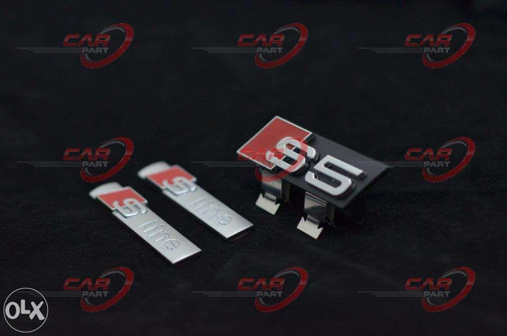 Set Embleme Audi S5 (3buc)