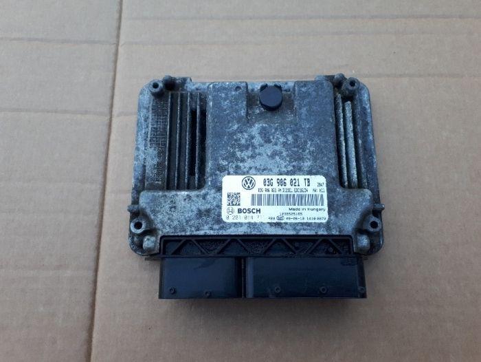 Calculator motor Skoda Octavia 2 1.9 TDI 03G906021TB