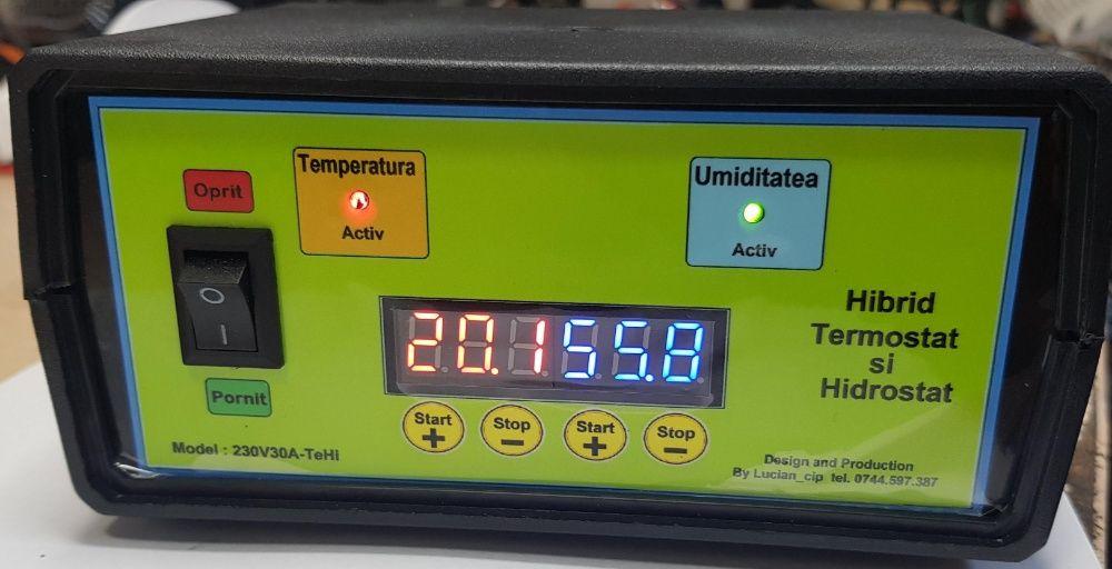 Hibrid Termostat si Hidrostat Digital , 230V30A-TeHi