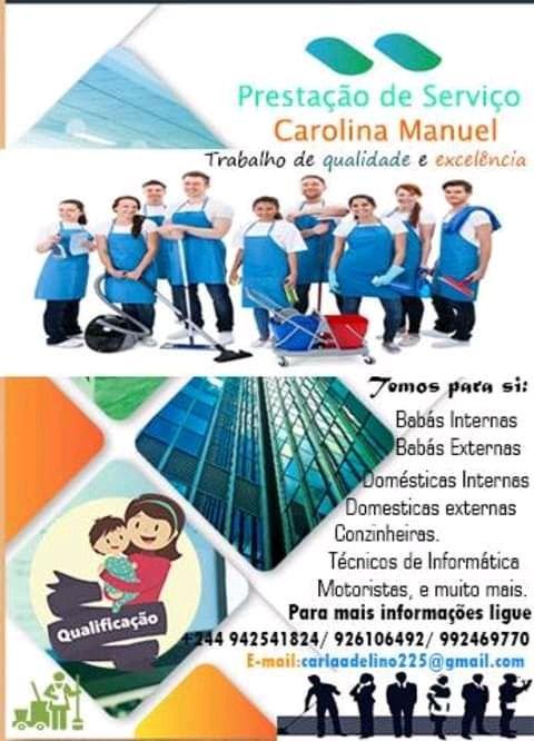 Carolina Empregadas-Tem prasii babás e Domésticas Interna