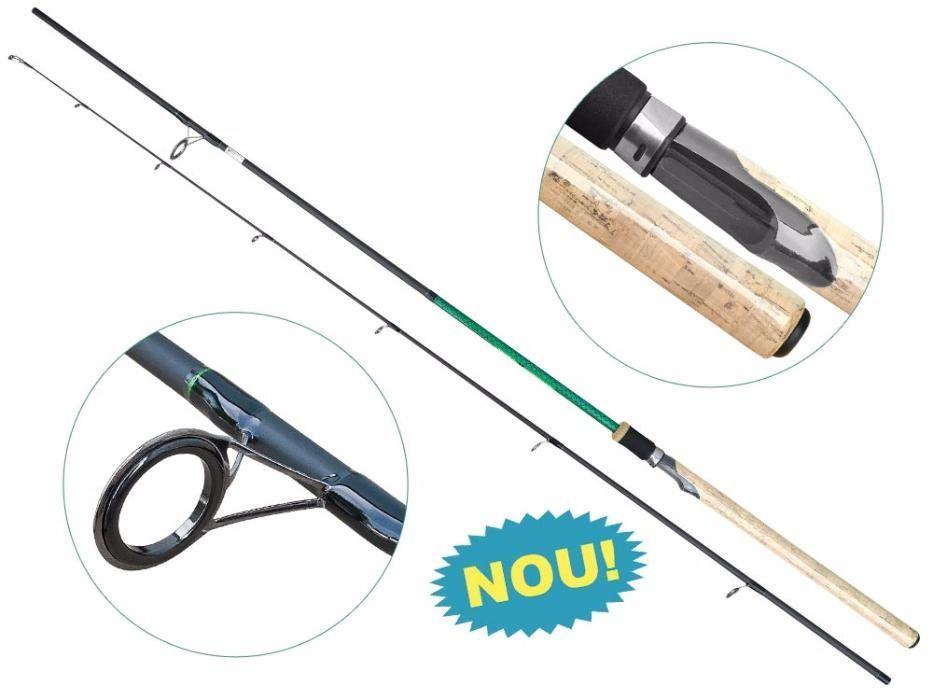 Lanseta fibra de carbon Baracuda Raptor 2,10 m A: 10-30