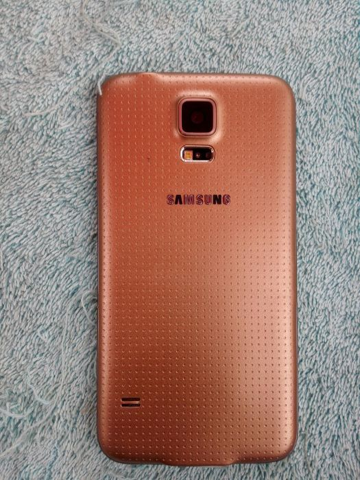 Galaxy s5 dourado super cline