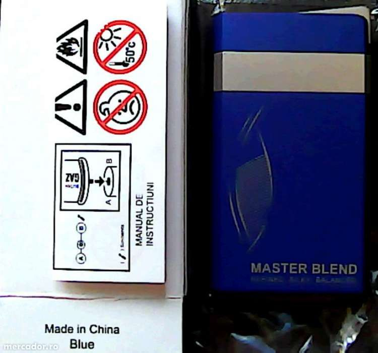 "BRICHETA DUNHILL ANTIVINT""master blend ""-albastra,noua la 17,90 lei"