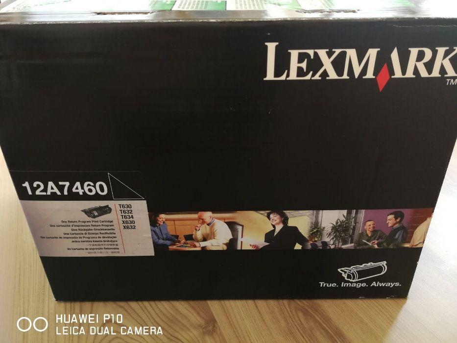 Cartus Toner Lexmark negru ORIGINAL 12A7460