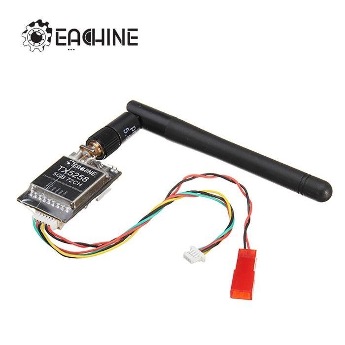 FPV Micro Transmitator VTX Eachine AV 5.8Gh 25/800 mW 72CH Drona
